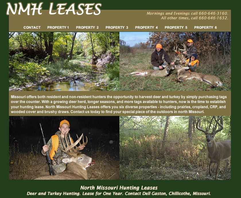 Contact Dell Gaston for Hunting Lease Information